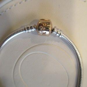 """pandora Jewelry - Authentic Pandora  new  7.9"""" Bracelet w 14K clasp"""